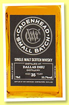Dallas Dhu 35 yo 1979/2014 (53.7%, Cadenhead, Small Batch)