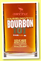 Dry Fly 'Washington Bourbon 101' (50.5%, OB, +/-2015)