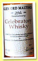 Glen Ord 1969/1993 'Celebratory Whisky' (60%, OB, 25th anniversary of Glen Ord Maltings, 75cl)