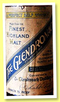 Glendronach (75° proof, OB, bottled 1930s-1940s)