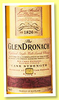 Glendronach 'Cask Strength' (55.3%, OB, batch 5, 2015)
