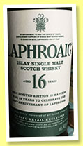 Laphroaig 16 yo (43%, OB, 200th Anniversary, travel retail, 35cl, 2015)
