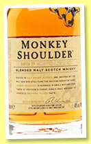 Monkey Shoulder (40%, OB, blended malt, +/-2015)