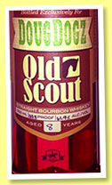 Smooth Ambler Old Scout 8 yo 2006/2014 (61.9%, OB, for DougDogz, bourbon, West Virginia, barrel #900, 122 bottles)