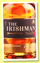 The Irishman 'Founder's Reserve' (40%, OB, Irish blend, +/-2015)