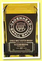 Tullibardine 22 yo 1993/2015 (47.3%, Cadenhead, Small Batch, 528 bottles)