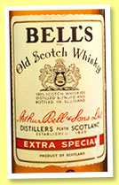 Bell's 'Extra Special' (40%, OB, Spain, 75cl, +/-1985)