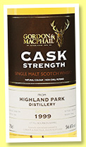 Highland Park 16 yo 1999/2016 (56.6%, Gordon & MacPhail, The Whisky Exchange, first fill bourbon barrel, cask #4260)