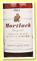 Mortlach 1954/2012 (43%, Gordon & MacPhail, Rare Vintage, first fill sherry butt, cask #494, 347 bottles)