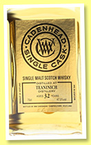 Teaninich 32 yo 1983/2015 (47.5%, Cadenhead, Small Batch, Gold Label)