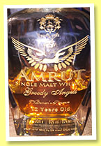 Amrut 12 yo 'Greedy Angels' (60%, OB, India, decanter, 2016)