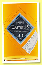 Cambus 40 yo 1975/2016 (52.7%, OB, Special Release, 1,812 bottles)