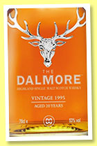 Dalmore 20 yo 1995/2016 (53%, OB, for La Maison du Whisky, Sauternes finish, cask #4, 290 bottles)