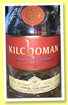 Kilchoman 2011/2016 (59.4%, OB, for LMdW, Caroni cask finish, cask #531)
