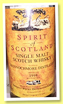 Mannochmore 1998/2014 (46%, Spirit of Scotland)