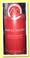 Monte Negro 'Grogue Original' (42%, OB, grogue, Cape Verde, +/-2016)