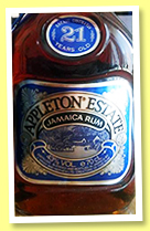 Appleton Estate 21 yo (43%, OB, Jamaica, +/-1995)