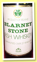 Blarney Stone 25 yo (40°, OB, for Switzerland, 1970s)