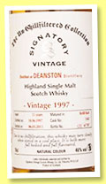 Deanston 15 yo 1997/2013 (46%, Signatory Vintage, Un-chillfiltered Collection, refill butt, cask #1343, 787 bottles)