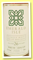 Emerald Isle 26 yo 1989/2016 (59.2%, Specialty Drinks, cask #16244)