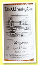 Glengoyne 37 yo 1972/2010 (51.8%, The Whisky Cask, bourbon)