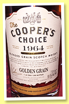 Golden Grain 1964/2016 (50.3%, The Cooper's Choice for True - Whisky, blended grain, bourbon cask, cask #1301)