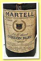 Martell 'Cordon Bleu' (40%, OB, 2,400 bottles for Italy, rotation 1976)