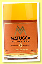 Matugga 'Golden Rum' (42%, OB, UK, +/-2016)