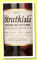 Strathisla 1953/2012 (43%, Gordon & MacPhail, Speyside Collection, cask #1614, first fill sherry butt, 258 bottles)