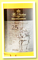 Ardbeg 25 yo 1991/2016 (49.8%, The Duchess, Shieldmaidens Malin, bourbon, 168 bottles)