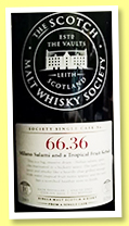 Ardmore 10 yo 2002/2012 (58.2%, Scotch Malt Whisky Society, refill sherry butt, #66.36, Milano Salami and a Tropical Fruit Kebab, 702 bottles)