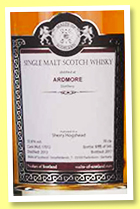 Ardmore 3 yo 2013/2017 (55.8%, Malts of Scotland, sherry hogshead, cask #MoS 17012, 345 bottles)