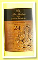 Auchentoshan 24 yo 1990/2014 (51.5%, The Duchess, Shieldmaiden Ylva, bourbon)