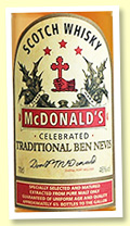 Ben Nevis 'McDonald's Traditional' (46%, OB, 185 years anniversary, 2012)