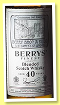 Berry's Finest 40 yo (46%, Berry Bros & Rudd, for Taiwan, +/-2016)