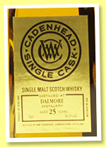 Dalmore 25 yo 1990/2016 (56.3%, Cadenhead, Single Cask, sherry butt)