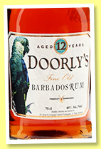 Doorly's 12 yo (40%, OB, Barbados, +/-2017)