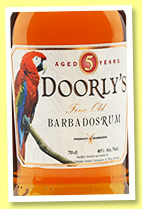 Doorly's 5 yo (40%, OB, Barbados, +/-2017)
