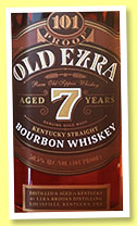 Ezra Brooks 'Old Ezra' 7 yo (50.5%, OB, Kentucky Straight Bourbon, +/-2016)