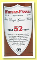 Fine Single Grain Whisky 52 yo 1964/2016 (47.7%, Whisky-Fässle, barrel)
