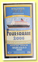 Foursquare 2006/2016 (57%, Transcontinental Rum Line, Barbados, 551 bottles)