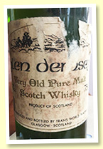 Glen Demsey 'Very Old Pure Malt Scotch Whisky' (43%, OB, +/- 1980)