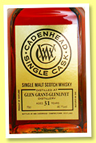 Glen Grant-Glenlivet 31 yo 1984/2016 (46.1%, Cadenhead, Small Batch, sherry, 414 bottles)