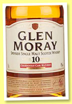 Glen Moray 10 yo (40%, OB, +/-2016)