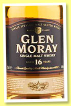 Glen Moray 16 yo (40%, OB, +/-2016)