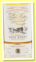 Glen Moray 8 yo 2007/2016 (59.1%, The Single Malts of Scotland, barrel, cask #5134, 231 bottles)