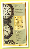 Glen Moray 8 yo (57.8%, The Whisky Exchange, Time Series, 251 bottles)