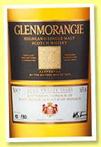 Glenmorangie 12 yo 2003/2015 'Rare Single Cask' (56.5%, OB, The Grimaldi Collection, bourbon, cask #633, 180 bottles)