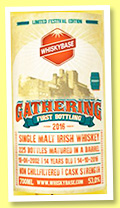 Irish Whiskey 14 yo 2002/2016 'Gathering' (53%, Whiskybase, barrel, cask # 8889, 225 bottles)