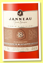 Jeanneau 18 yo (43%, OB, Armagnac, single distillery, +/-2016)
